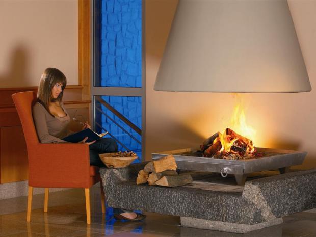 Hotel Bellevue - kamin soba